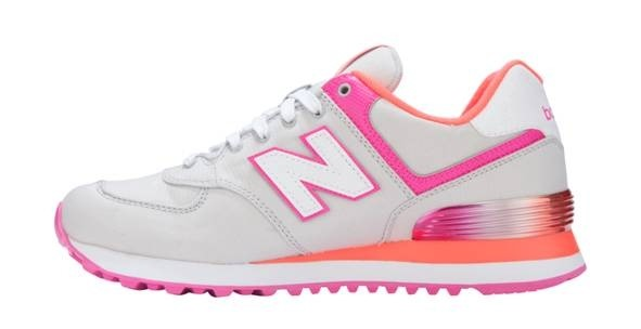 New Balance 574 Alpine Pack, White/Pink