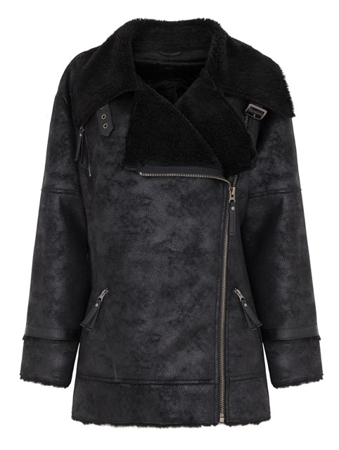 Marks and Spencer Shearling Jacket
