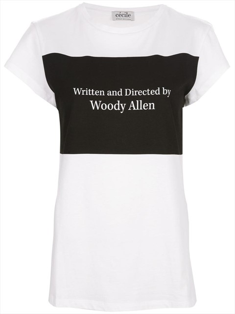 Woody Allen T-shirt by Cécile