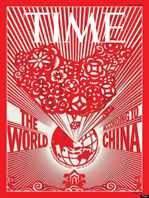 AI WEIWEI TIME MAGAZINE COVER