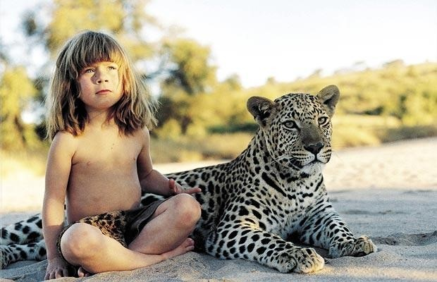 Tippi Degré, the real Mowgli girl