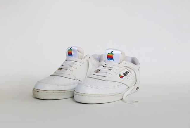 Apple sneakers, circa early '90s