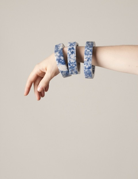 Marble Bangles from JF & Son