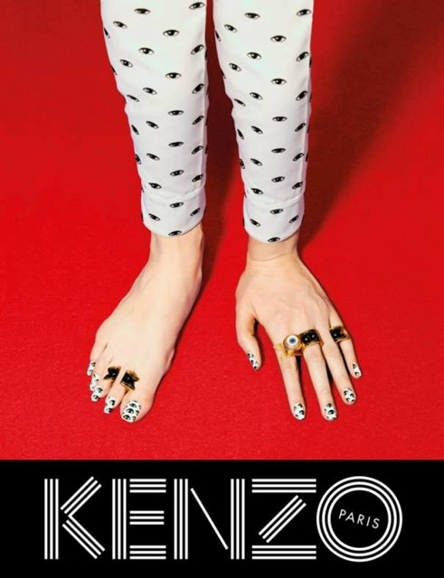 Kenzo AW13 campaign by Pierpaolo Ferrari