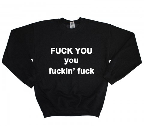 F*CK YOU sweater