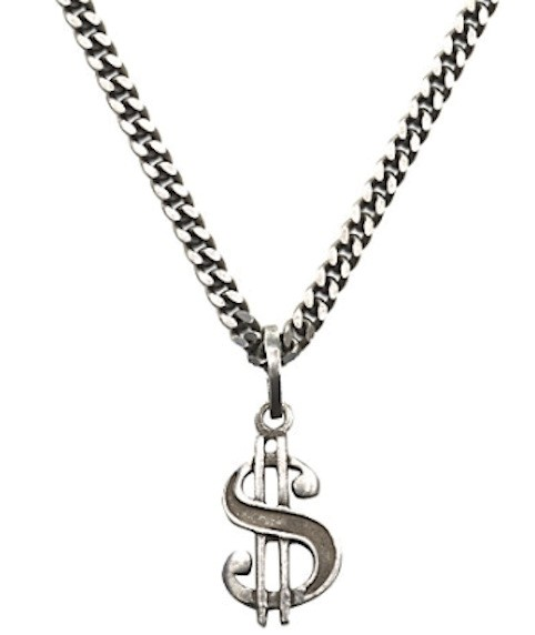 SAINT LAURENT DOLLAR PENDANT