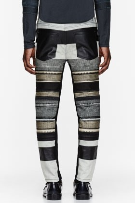 3.1 PHILLIP LIM  leather jeans