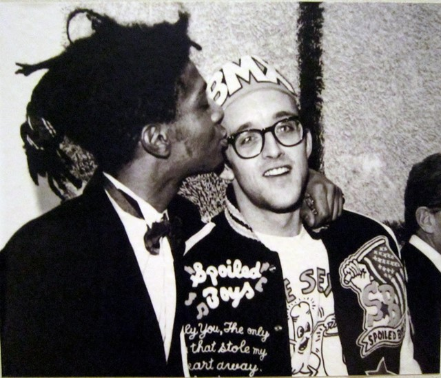 Keith Haring and Jean-Michel Basquiat at The Whitney Museum