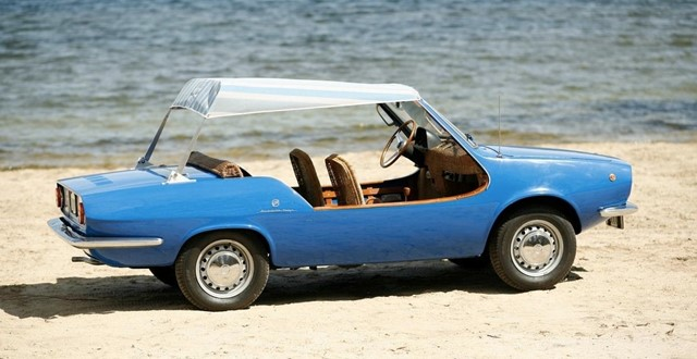 1969 Fiat Michelotti Shellette Beach Car called Noodle