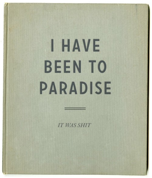 A Notebook for Pessimists