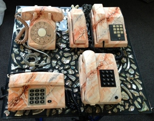 Marble Telephones by Clementine Keith-Roach