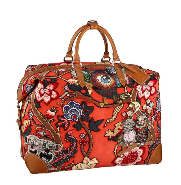 Louis Vuitton x Chapman Brothers Sac Weekend Limited edition Bag