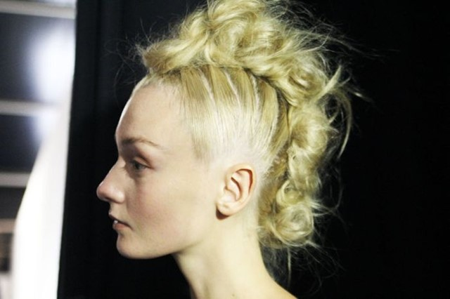 Chic Mohican at Simone Rocha