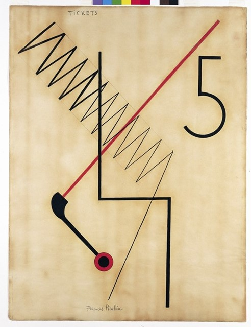 Francis Picabia, Tickets (1922)