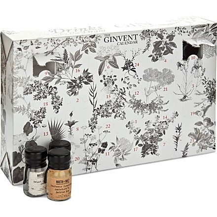 The Ginvent Calendar - 24 days of gin.