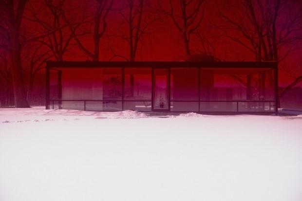 Glass House, James Welling