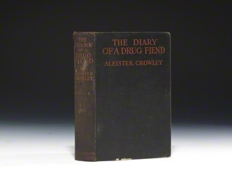 """Aleister Crowley """"Diary of a Drug Fiend"""" 1923"""