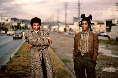 Basquait and Rammellzee <3
