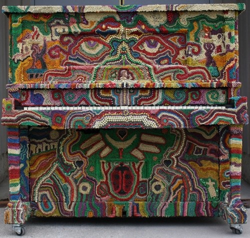 Beaded Piano by John Lawson