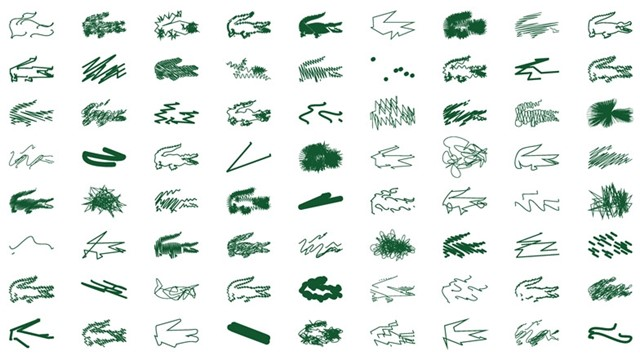Peter Saville for Lacoste