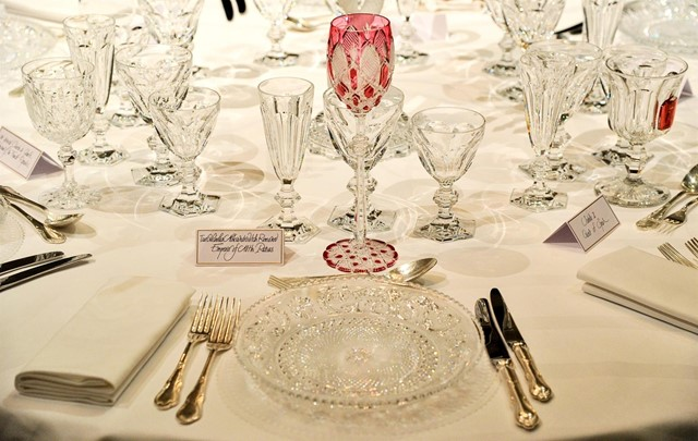 Baccarat Crystal Table Setting