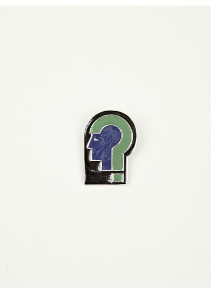 Raf Simons Men's Helmet Head Brooch