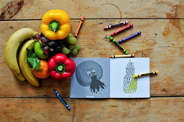 Colour Me Healthy book