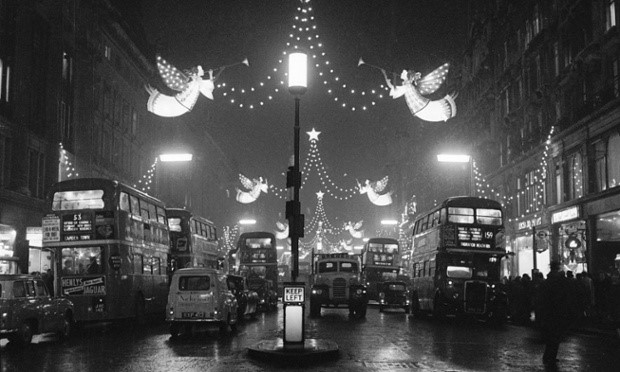 Regent Street Christmas Lights, 1960