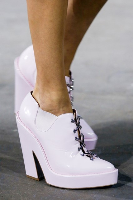 Alexander Wang  Spring 2014 Laced Shoes