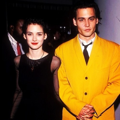 Johnny Depp's Yellow Suit