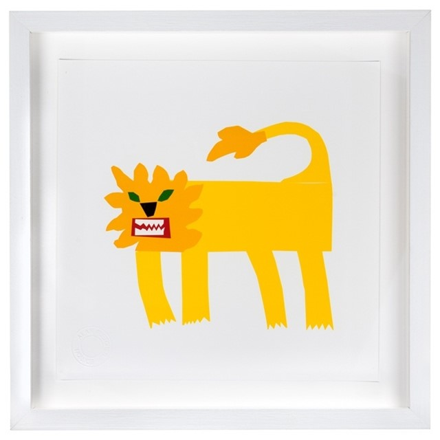 Alan Fletcher Lion