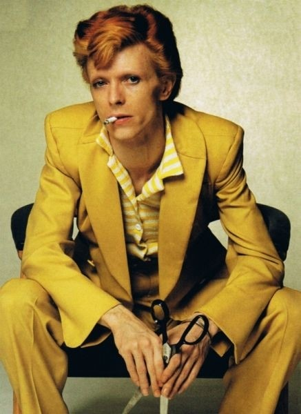 Bowie's Yellow Suit