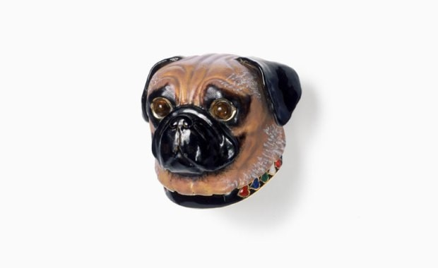 Pug brooch by Cartier, 1955