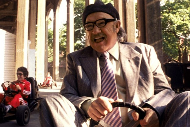 Gene Hackman in The Royal Tenenbaums