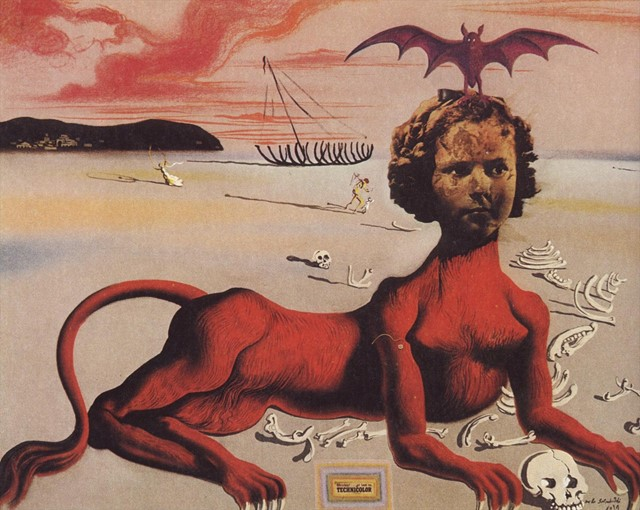 Shirley Temple by Salvador Dali