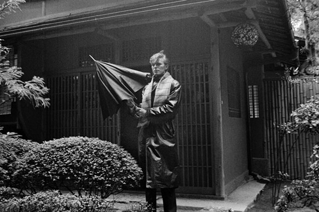 David Bowie in Kyoto, Japan (1980)