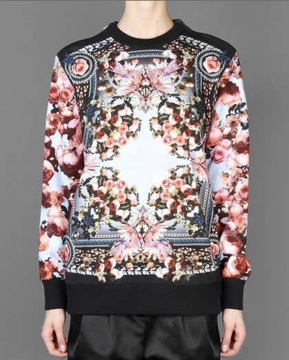 Givenchy - Floral Printed Sweater