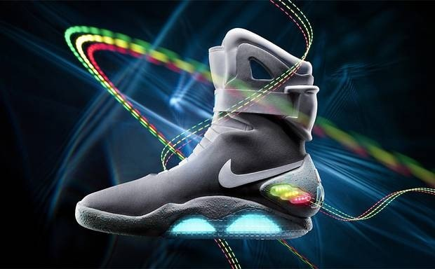 Marty McFly Back To The Future II Trainers