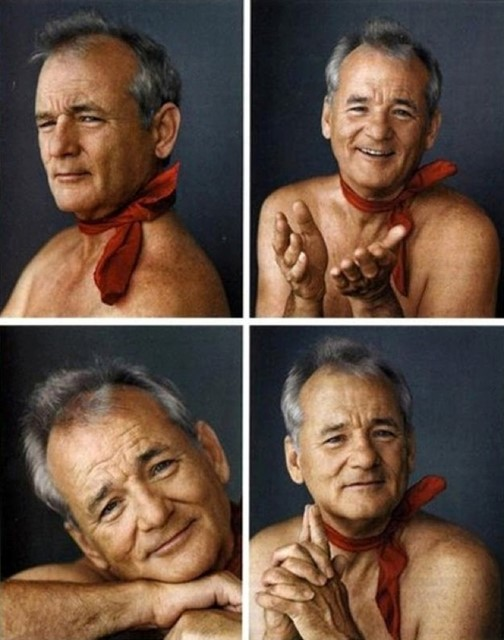 Bill Murray's Christmas Card