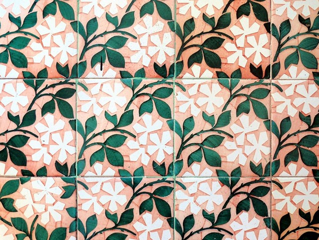 Beautiful tiles in Barcelona