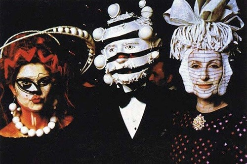Guests at the 1972 Rothschild illuminati party held at the Château de Ferrières