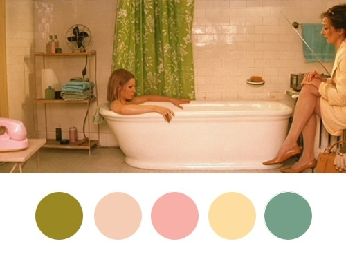 Wes Anderson Palettes Tumblr.