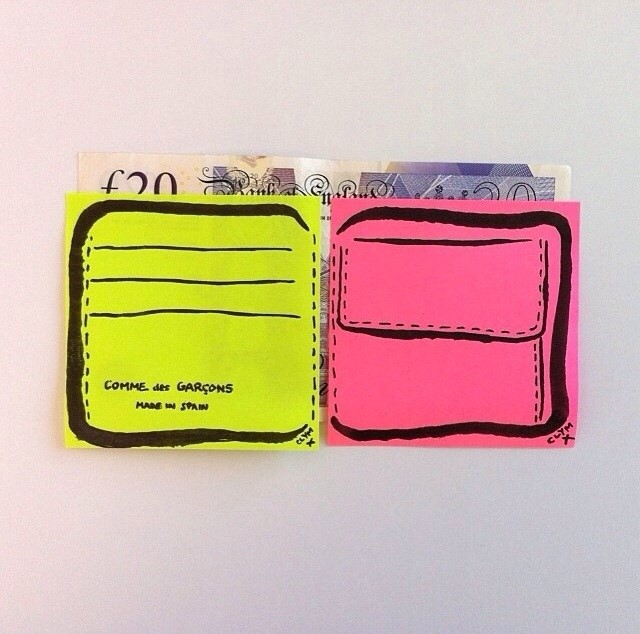 Post-it Wallet