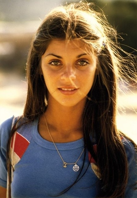A young Carine Roitfeld