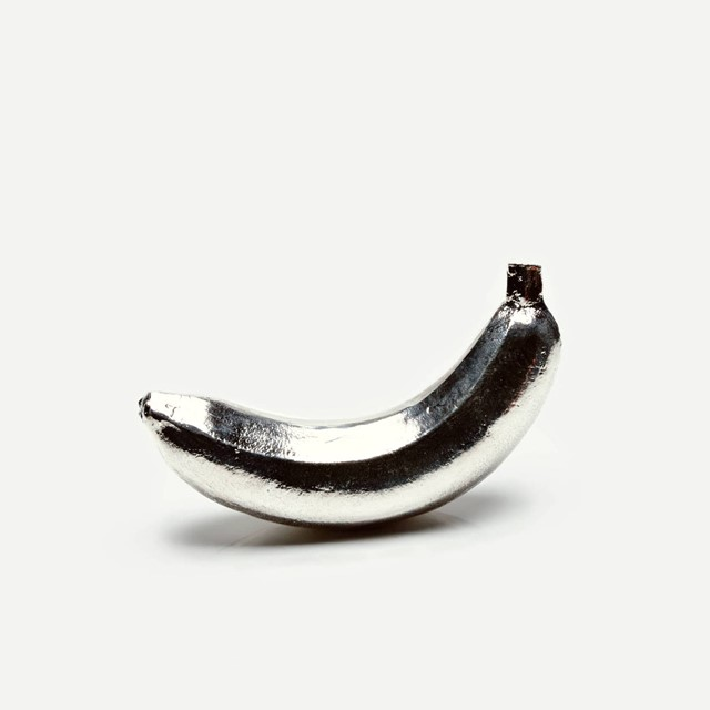 Silvered banana by Creel & Gow
