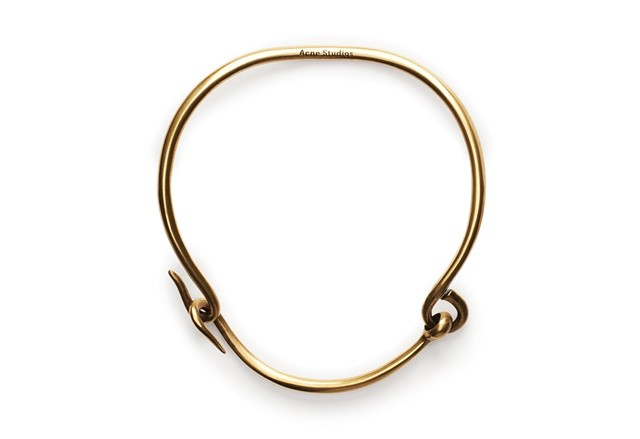Gold Necklace by Acne Studios