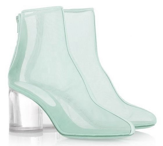 MAISON MARTIN MARGIELA in mint green