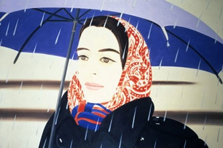 Alex Katz Blue Umbrella 1972