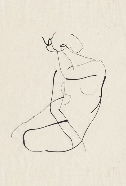 A Coy Nude