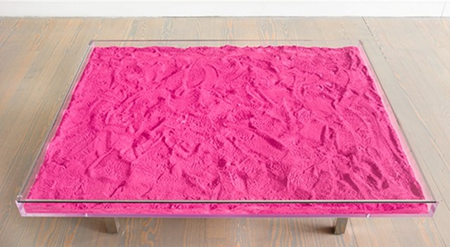 Yves Klein's Pink Table